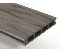 Террасная доска ДПК Select 146х22х4000 мм Серый дым