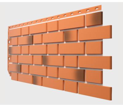Фасадные панели Flemish (гладкий кирпич) Красный жженый от производителя Docke по цене 335.00 р