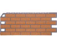 Фасадные панели (цокольный сайдинг) коллекция Кирпич - Бежевый