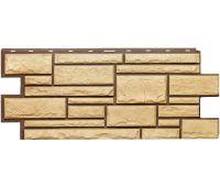 Фасадные панели (цокольный сайдинг) коллекция Дикий камень - Пустынный