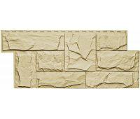 Фасадные панели (цокольный сайдинг) коллекция Гранит Леон - Пустынный