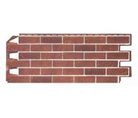 Фасадные панели кирпич Solid Brick Терракотовый