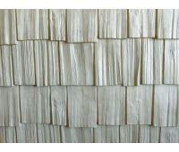 Цокольный сайдинг Hand-Split Shake (Щепа) WEATHERED WHITE (Выцветшее дерево)