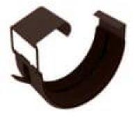 Соединитель для желоба Коричневый (RAL 8017)