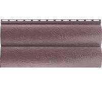 Сайдинг Blockhouse (Блокхаус - под бревно) акриловый, двухпереломный, Красно-коричневый