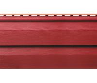 Виниловый сайдинг (Канада плюс) коллекция Премиум. Красный