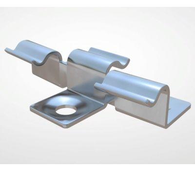 Кляймер с зазором от производителя Decking-DPK (Декинг-ДПК) по цене 25.00 р