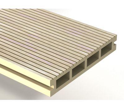 Террасная доска ДПК Expert 150x25x3000 мм Сакура от производителя Woodvex по цене 417.00 р