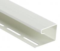 J-профиль фасадный 30 мм Белый