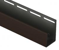 J-профиль фасадный 30 мм Шоколадный