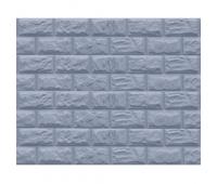 Цокольный сайдинг коллекция Альпийский камень - Серо-голубой