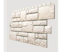 Фасадные панели (цокольный сайдинг) , Burg (камень), Weibburg Белый