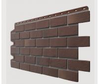 Фасадные панели (цокольный сайдинг) , Berg (кирпич), Braunberg Коричневый