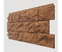 Фасадные панели (цокольный сайдинг) , Fels (скала), Terrafels Терракотовый