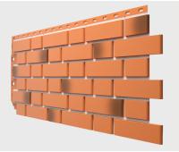 Фасадные панели Flemish (гладкий кирпич) Красный жженый