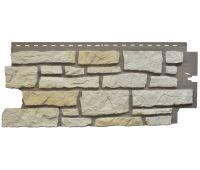 Цокольный сайдинг Creek Ledgestone (Бутовый камень) Ivory White