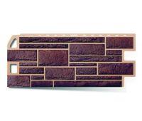 Фасадные панели (цокольный сайдинг) КОЛЛЕКЦИЯ «КАМЕНЬ» Жженый