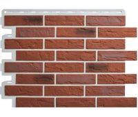 Фасадные панели (цокольный сайдинг) КОЛЛЕКЦИЯ «КИРПИЧ РИЖСКИЙ» - 04