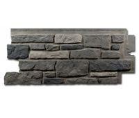 Цокольный сайдинг Creek Ledgestone (Бутовый камень) Appalachain Ash