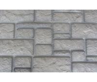 Фасадные панели Дворцовый камень Белый