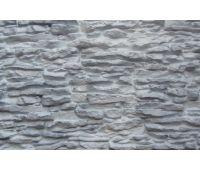 Фасадные панели Пласт крупный Белый