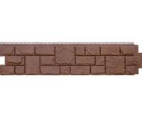 Цокольный сайдинг Grand Line Екатерининский Камень Гречневый