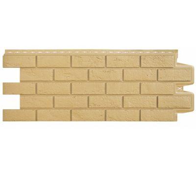 Фасадные панели состаренный кирпич Песочный от производителя Grand Line по цене 274.00 р