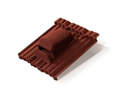 Вентилятор кровельный Shake2 Красный от производителя Metrotile по цене 5 596.00 р