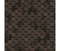 Гибкая черепица Однослойная Классик, коллекция Соната – Коричневый