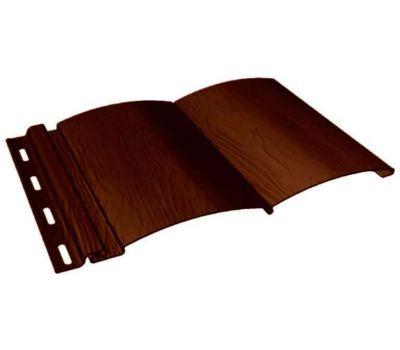Виниловый сайдинг - BlockHouse, Темный дуб от производителя Fineber по цене 257.77 р