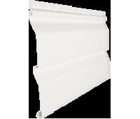 Виниловый сайдинг серия «D 4,5 Dutchlap», Белый